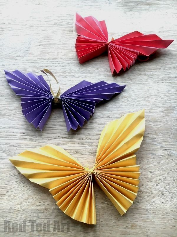 Fun And Easy Art Projects For Kids Funcrafts Butterfly Paper