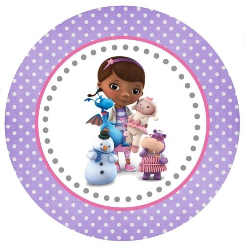 Dottie Large Tag or Cupcake Topper (free Printable)