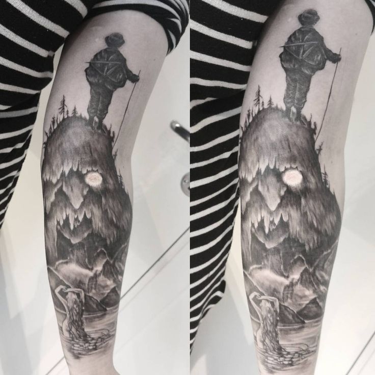 @abotnesida Rewriting norwegian traditional fairytales in a sleeve#fairytales#tattoo#inkedgirls#ink#tattoos#norway#kittelsen#troll#huldra#askeladden#supernatural#skills#moodsofnorway#traditional#lovemyjob#art#bestoftheday#yolo#love#fun#rewriting#history#inkmaster#patience