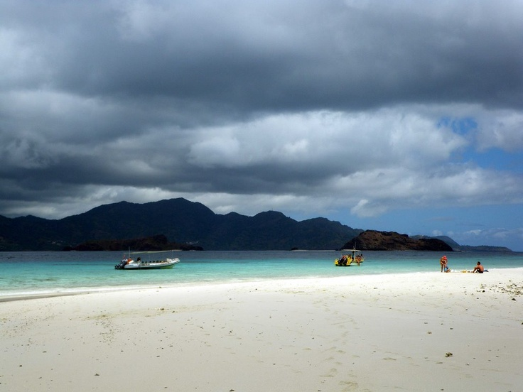 Beach of Mayotte Island