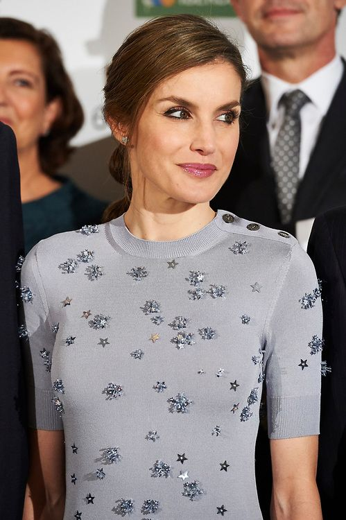 King Felipe and Queen Letizia attended 60th anniversary of Europa Press Agency at Villamagna Hotel in Madrid