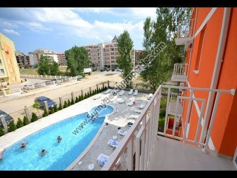 31000€ at 1-year deferred payment ! 29000€ at 100% payment within 1 month! Pool view 1-bedroom apartment for sale in enclosed complex Gerber Residence 4 , in absolute tranquility in the central part of Sunny Beach Resort, Bulgaria, 100m. from year-round supermarkets, 400m. from the beach and 500 meters from downtown the resort. Suitable for both year-round living and holiday home. http://www.sunnybeachproperties.com/en/offer/103871.html