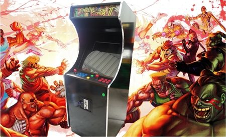 Streetfighter Upright Black Edition - 2100 Games