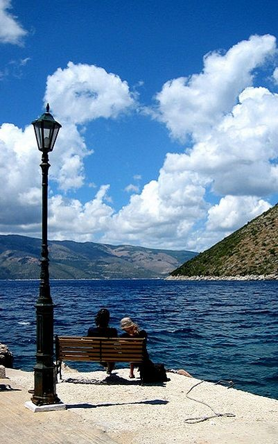 Waiting the Boat.. Ithaca Island, Greece | Flickr - Photo by azzaroc2