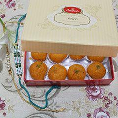 send online Rakhi with Sweet Gift Hamper to USA #sendrakhitousa #Designerrakhitousa