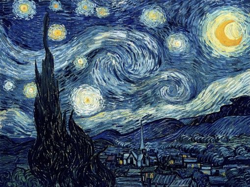 Van Gogh, Wincent - Starry Night - photo-wallpaper