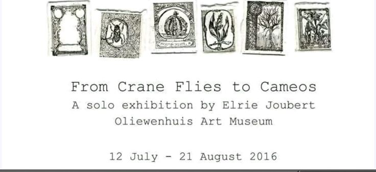 Elrie Joubert, From Crane Flies to Cameos. Miniature Etches