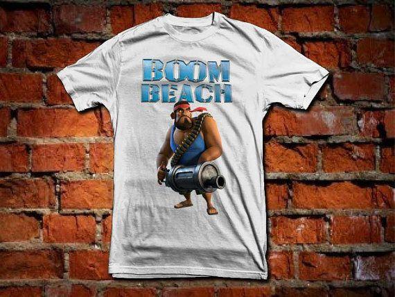 boom beach warriors a 100 pre shrunk cotton branded by starwayshop, $15.50