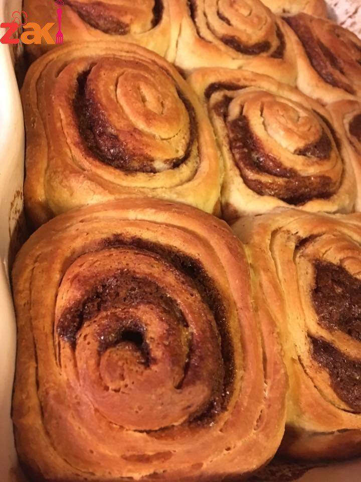 طريقة عمل سينابون رول زاكي Sweet Pastries Best Dishes Recipes