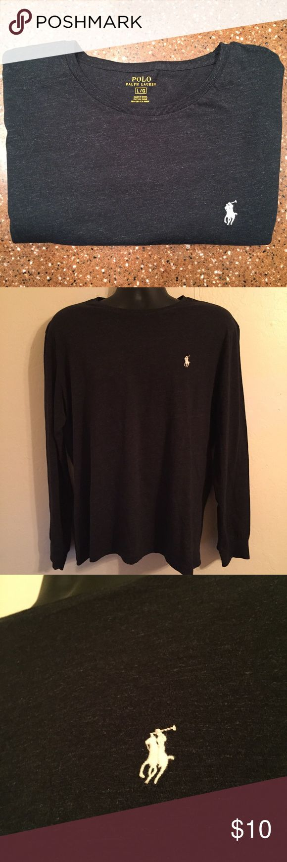 Polo Ralph Lauren Long Sleeve Shirt Large Mens Polo Ralph Lauren Long Sleeve Shirt Large Mens barely worn Polo by Ralph Lauren Shirts Tees - Long Sleeve
