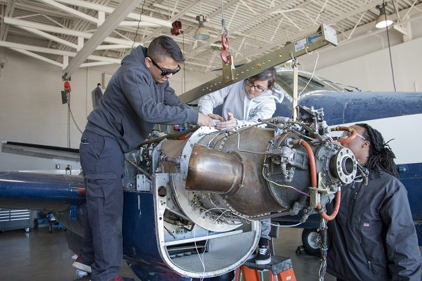 What Is The Work Of Aircraft Maintenance Technology
