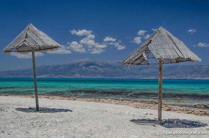 Pelegrina beach, Chrissi island near Crete island , by periplofotografi.com