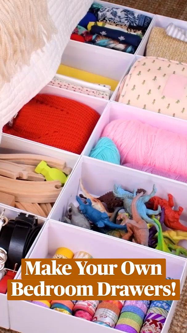 Diy Crafts To Do, Diy Resin Crafts, Diy Crafts Hacks, Diy Arts And Crafts, Cute Diy Room Decor, Diy Home Decor, Furniture Projects, Diy Furniture, Bedroom Drawers
