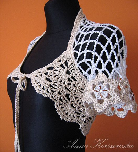 www.polandhandmade.pl  #polandhandmade #bolero  #crochet