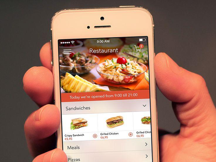 Restaurant App by Kubilay Sapayer