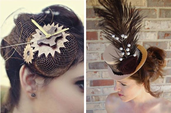 steampunk hair accessories - Google Search
