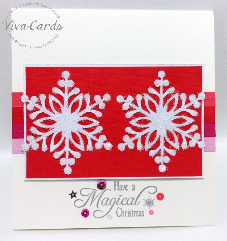 Handmade Card - Magical Christmas
