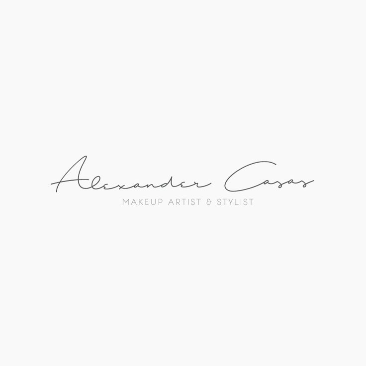 """""""Alexander Casas - Makeup Artist & Stylist Logo"""" https://www.behance.net/gallery/46891911/Alexander-Casas-Makeup-Artist-Stylist-Logo"""
