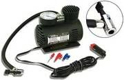 Car Tyre Inflator with Tyre Gauge and 3 Nozzles for Rs.599 - Groupon (MRP Rs.999)
