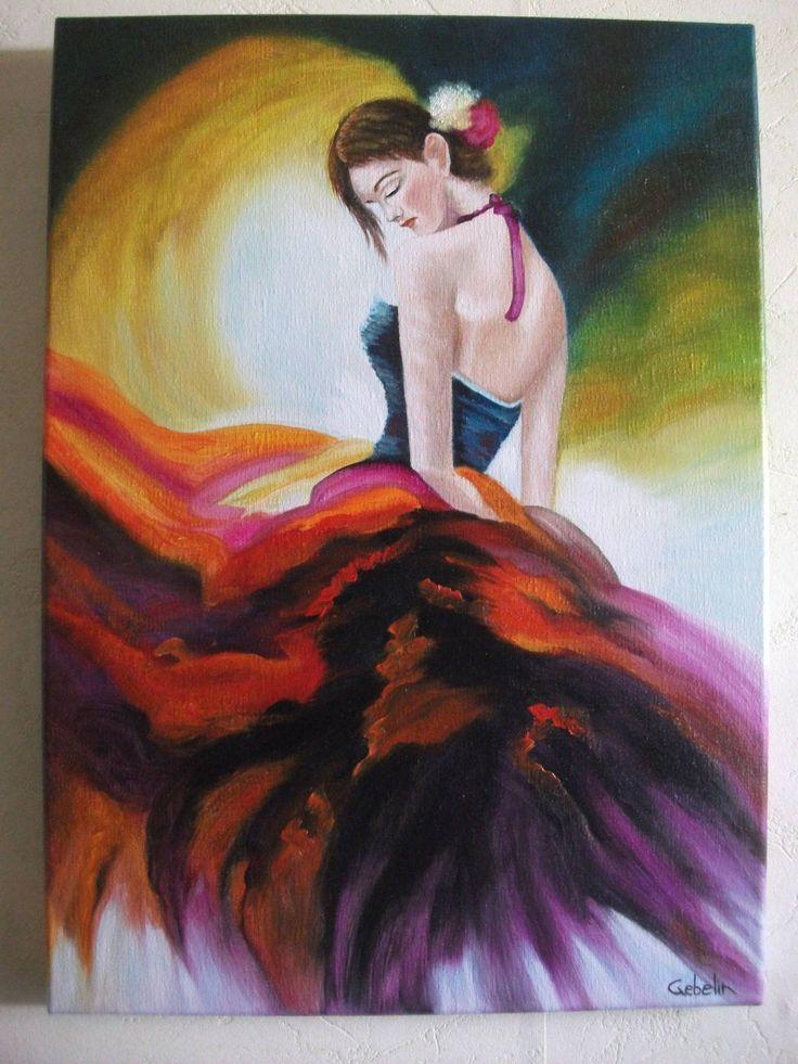 Bailarín de español baile flamenco