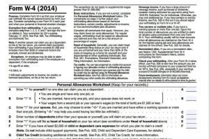 How to Fill Out a W-4 Form for a New Job