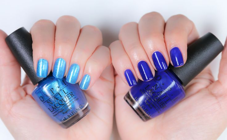 I Sea You Wear OPI & My Car Has Navy-Gation | OPI Brights Collection 2015 | OPI UK