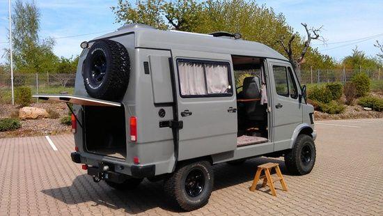 mercedes benz 310 camper 4x4
