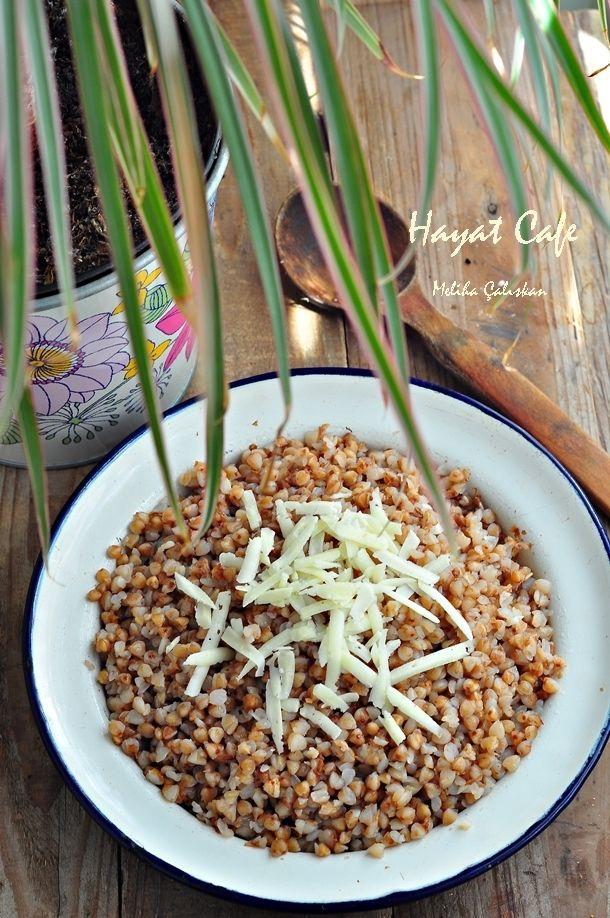 Karabuğday Pilavı   Hayat Cafe Kolay Yemek Tarifleri