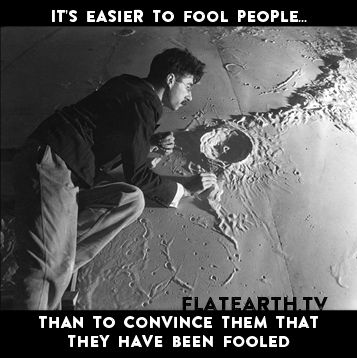 """""""it's easier to fool people than to convince them that they have been fooled"""""""