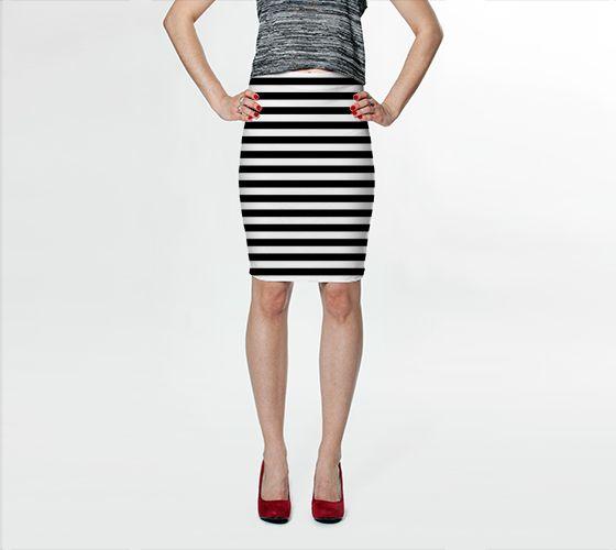 Jailhouse Bodycon Skirt - Available Here: http://artofwhere.com/shop/product/47726
