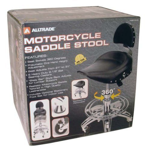 Alltrade Motorcycle Saddle Stool By Alltrade 119 00