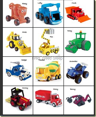 Just printed these cuties out for my Bob-the-builder fanatic :)