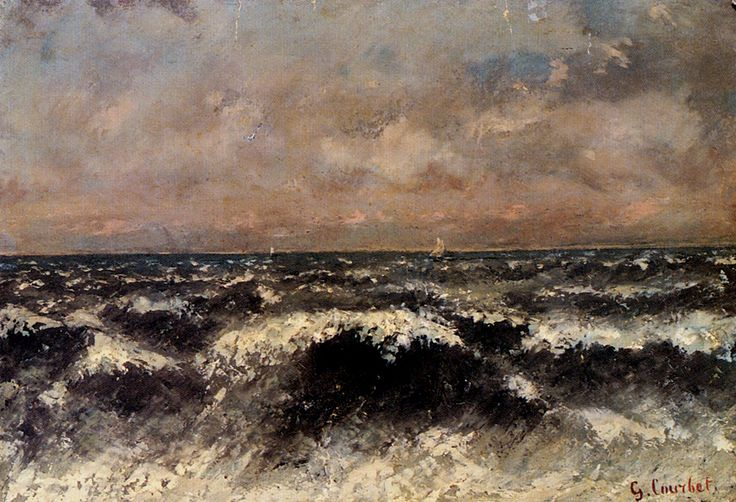 Gustav Courbet, Seascape c.1869