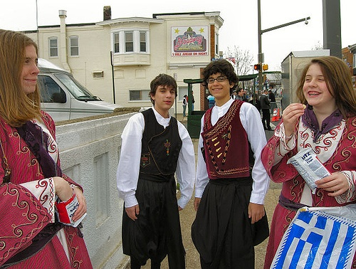 greek cyprus cypriot 2006 baltimore independence young costumes parade greeks greece folk