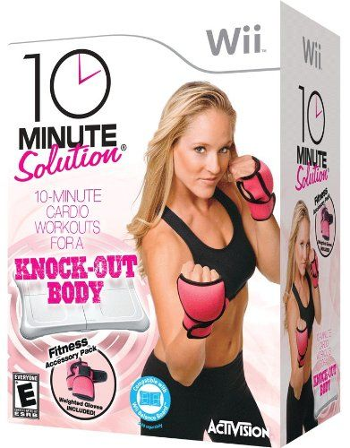 Today's Price:    10 Minute Solution provides customizable and stackable workout sessions that allow you to tailor your own workout experience. From cardio to strength training, 10 Minute Solution for Wii is a total-body workout that delivers powerful results while easily fitting into...