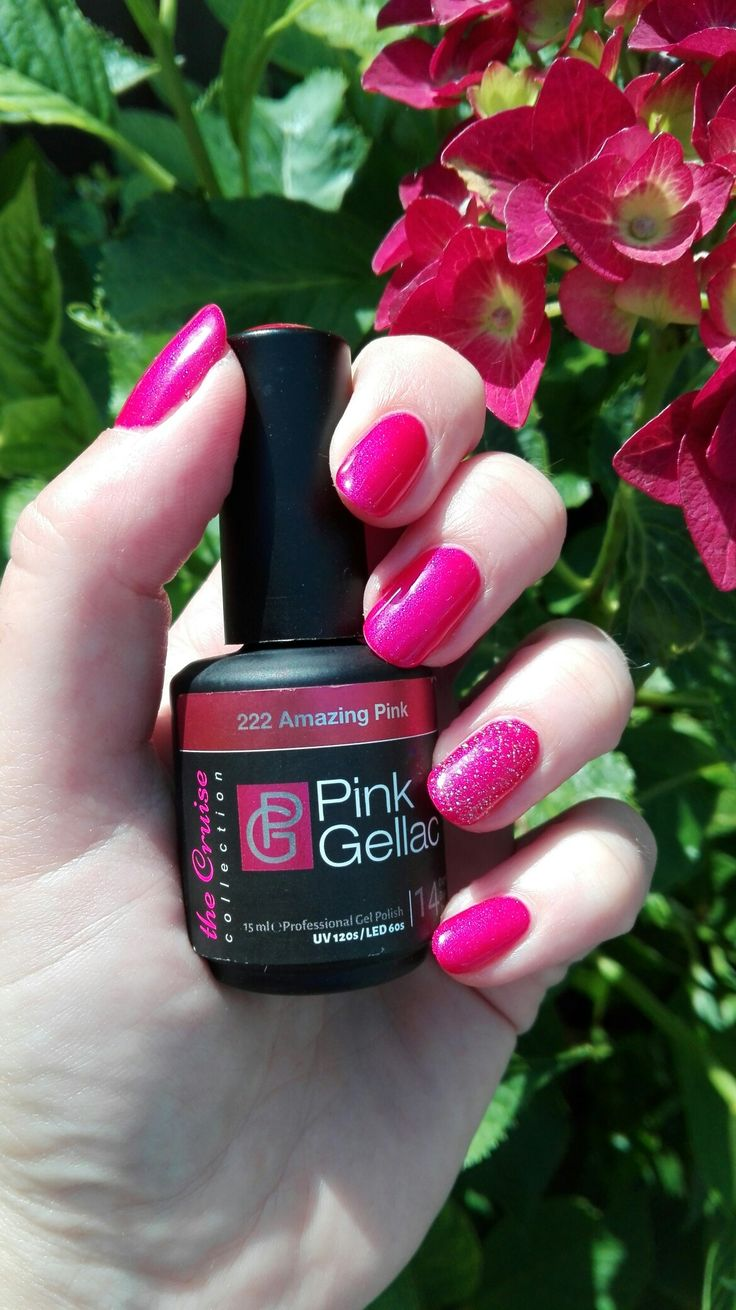 Pink gellac Amazing pink 222