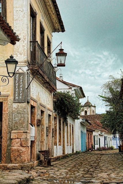 Paraty, Brazil. 'No place in Brazil blends colonial architecture with natural setting as does Paraty