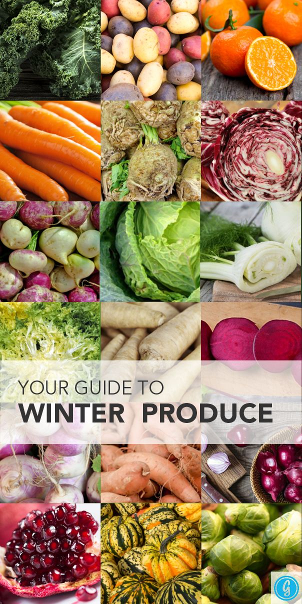 Some of the Best Fruits and Vegetables to Eat This Winter. Check out seasonal and winter produce.