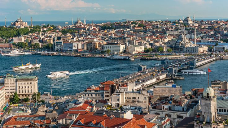 Istanbul - the Veiw from Galata Tower, Istanbul