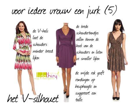 Voor iedere vrouw een jurk - het V-silhouet