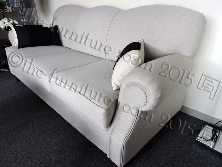 Back To Basics   Furniture Room specialises in custom made furniture like our Australian made Tiffany Sofa. Displayed is our 3 seater… Customise your preferred size (i.e. 2 seater - we make any size)   Variety of fabrics available (i.e. commercial washable fabric)   Customise cushion firmness   Versatile to decorate   Can transition through different interior styles & trends   Quality made to last.