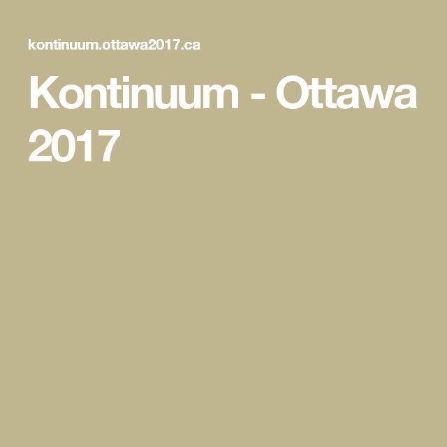 Kontinuum - Ottawa 2017
