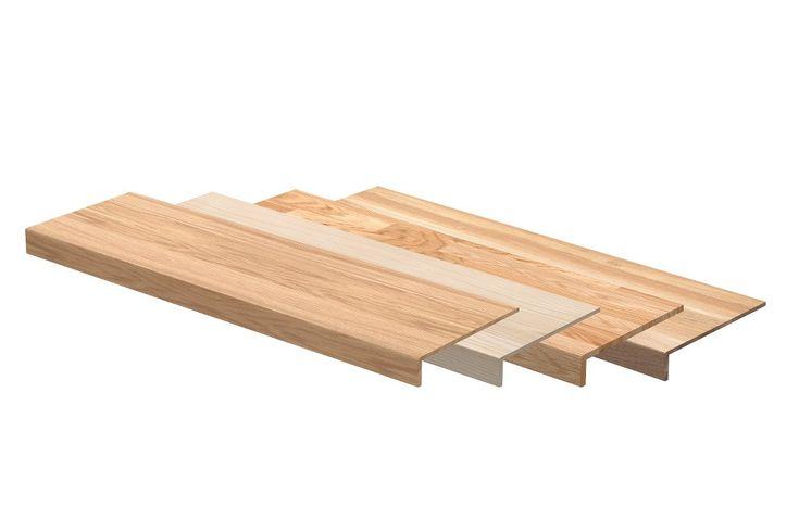 Trapprenovering enkel- och dubbelsteg i 3 olika serier. Premium, classic och rustic  Trapprenovering med sättsteg i olika färger och material till den stängda trappan.   Se hela guiden på http://www.lundbergs.com/sv-se/guider/renovera-trappan
