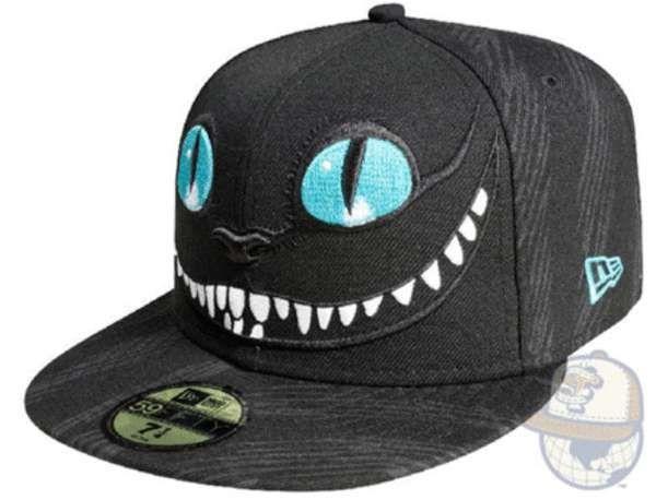 Cheshire Cat. New Era. 55 Boastful New Era Caps #design trendhunter.com