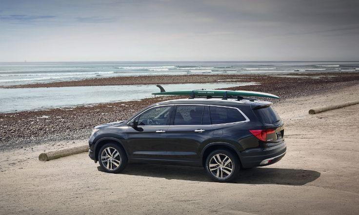 Honda Pilot 2016 quiere conquistar el segmento de SUV de tres filas de asientos - http://webadictos.com/2015/04/10/honda-pilot-2016-suv/?utm_source=PN&utm_medium=Pinterest&utm_campaign=PN%2Bposts