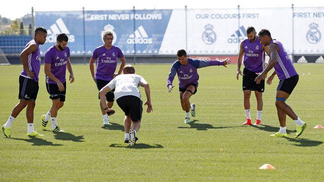 Real Madrid: El Madrid trabaja alejado del ruido de los fichajes   Marca.com