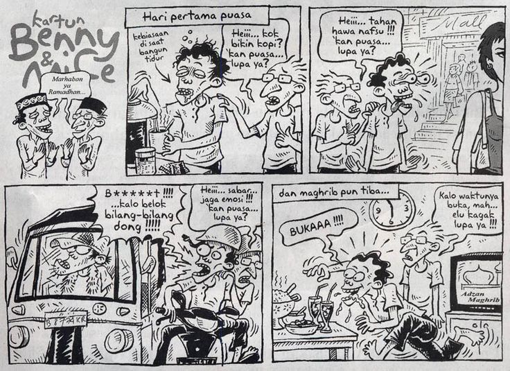 Benny and Mice, Kompas: Marhaban Ya Ramadhan...