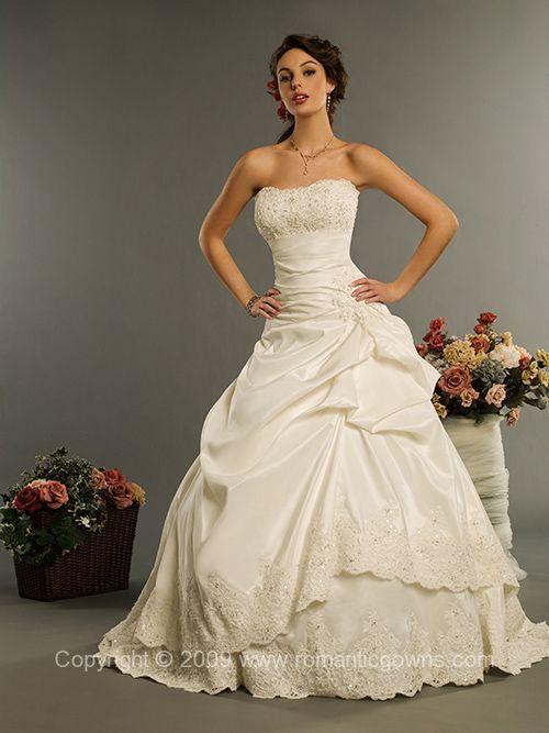Victorian style wedding dresses victorian wedding for Victorian inspired wedding dress