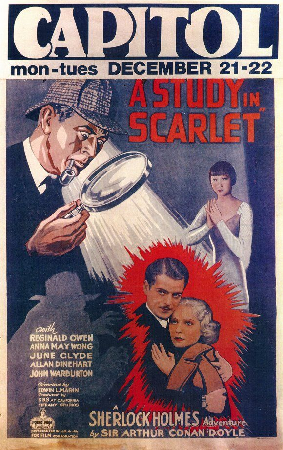 """A Study In Scarlet"" 1933 version with Anna May Wong"