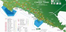 Cartina sentieri Cinque Terre  www.cinqueterre.it